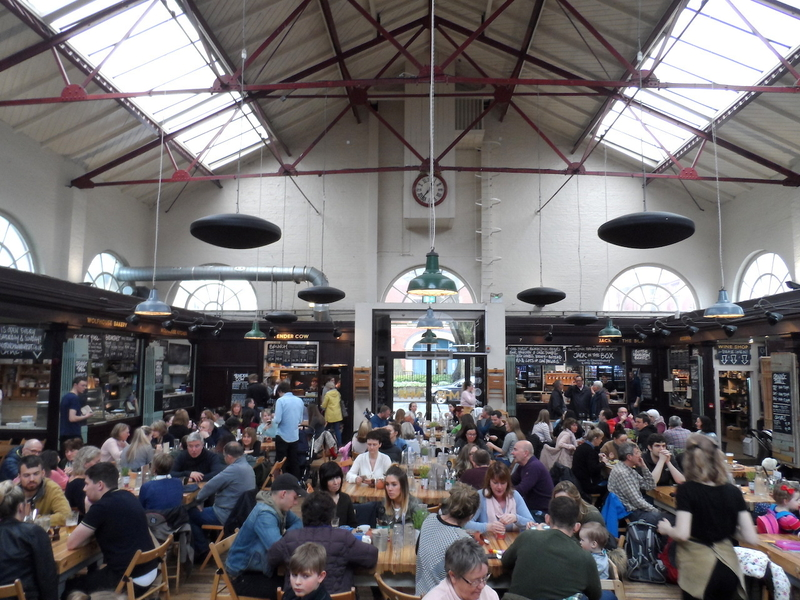 180504 How To Spend A Weekend Altrincham Market Food Hall