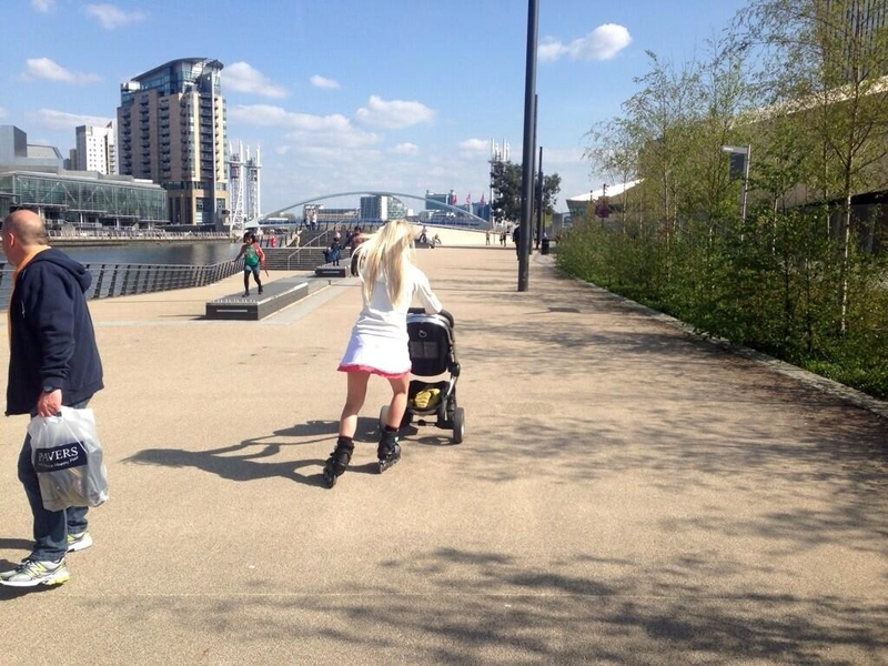 Salford Quays 180628 Quays Walk Q2 Mobile Childcare Solution