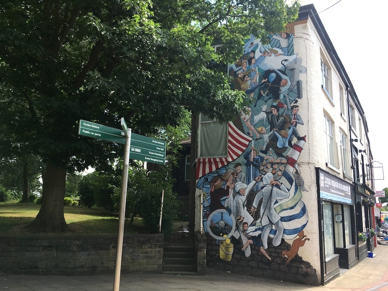 2018 07 13 How To Spend A Weekend In Salford Eccles Eccles Wake Mural 1