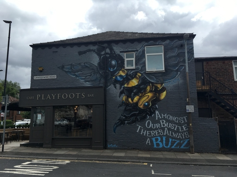 2018 07 13 How To Spend A Weekend In Salford Monton Playfoots Bee Mural