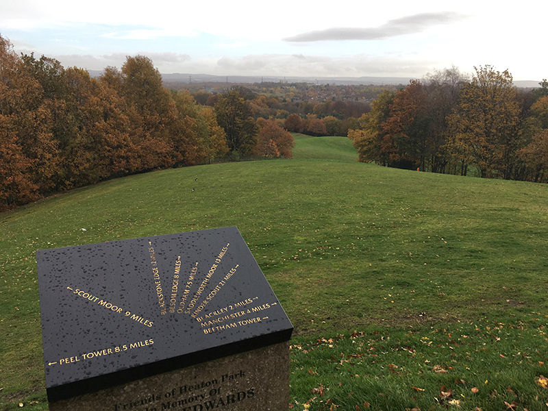 2018 11 20 Beyond The City Prestwich 2018 11 10 Heaton Park View From Temple