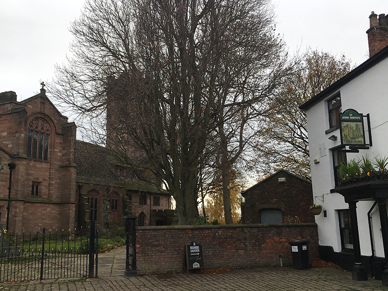 2018 11 20 Beyond The City Prestwich 2018 11 10 St Marys Church The Church Inn