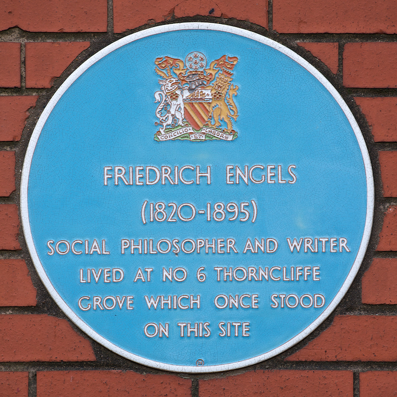 2018 11 28 Engels Birthday Eng4 Plaque Thorncliffe Grove