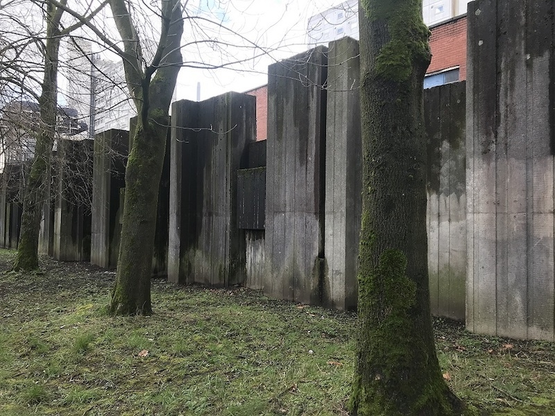 03 18 2019 Brutal North Campus Holloway Wall