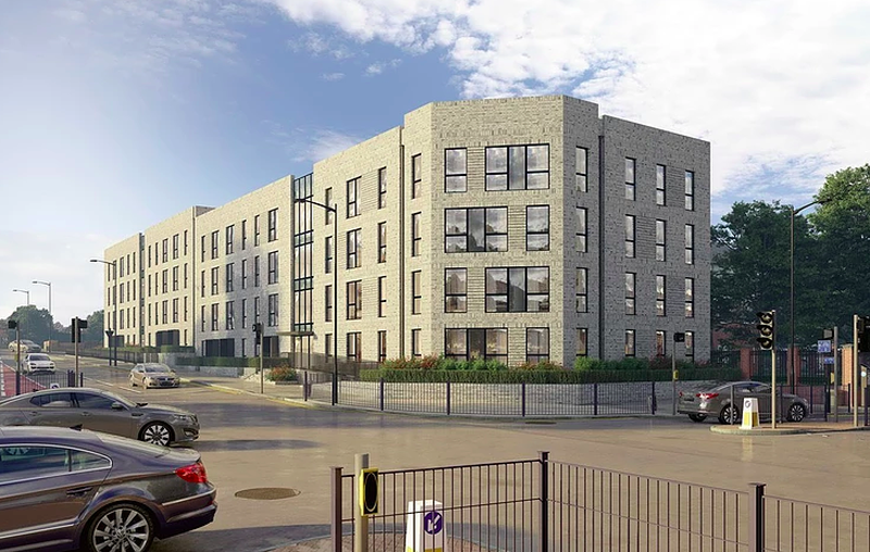 Knight Knox And Coda Studios Have Brought Forward A Development Of 44 Apartments Opposite Langworthy Metrolink Station