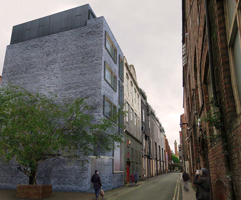 Howard Seddon Architects Have Submitted A Planning Application For A Block Of 6 Apartments In The Gay Village