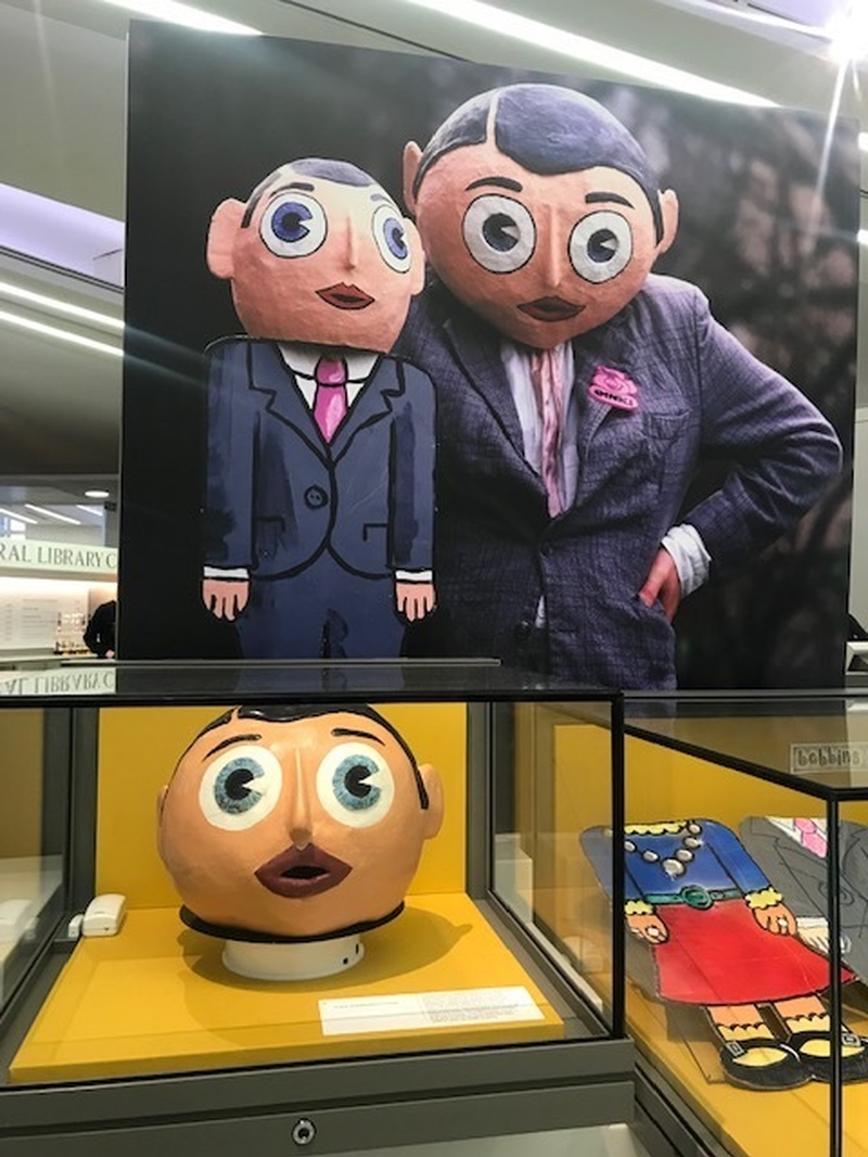Frank Sidebottom Exhibition Library Img 0383