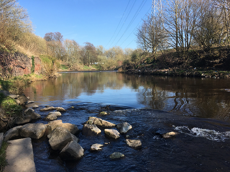 2019 03 29 The Heatons Heaton Mersey Weir