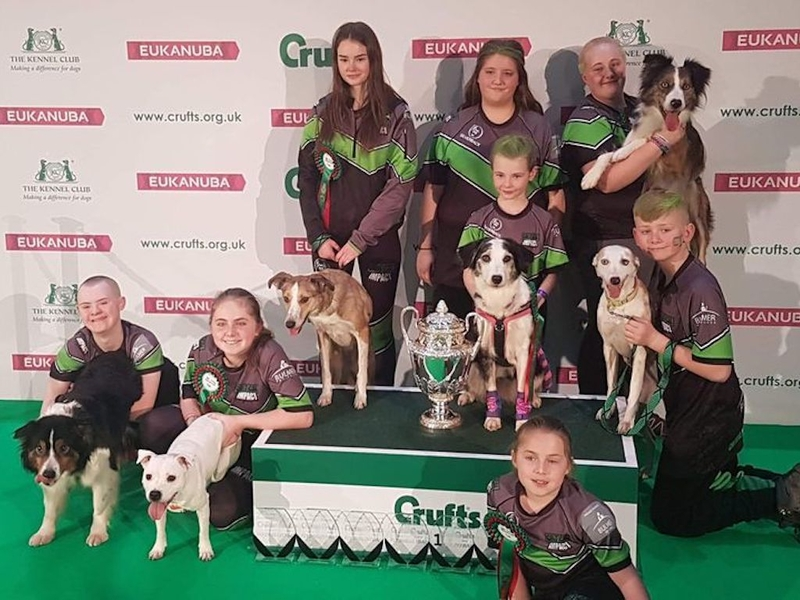 2019 03 28 Crufts Flyball Team