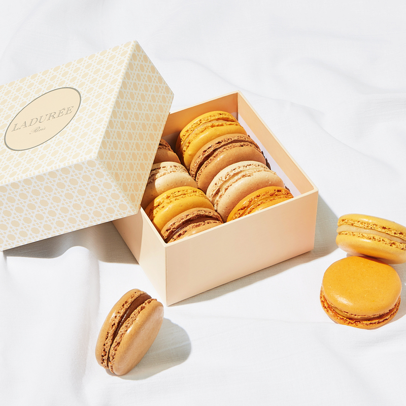 2019 10 18 Laduree Boite Cannage Orange Macaron