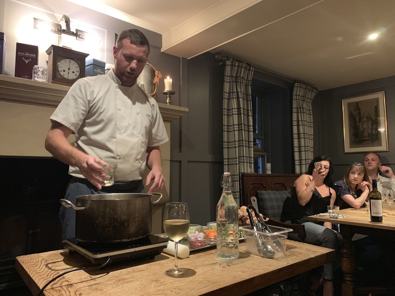 2019 10 22 Derby Arms Head Chef Demo