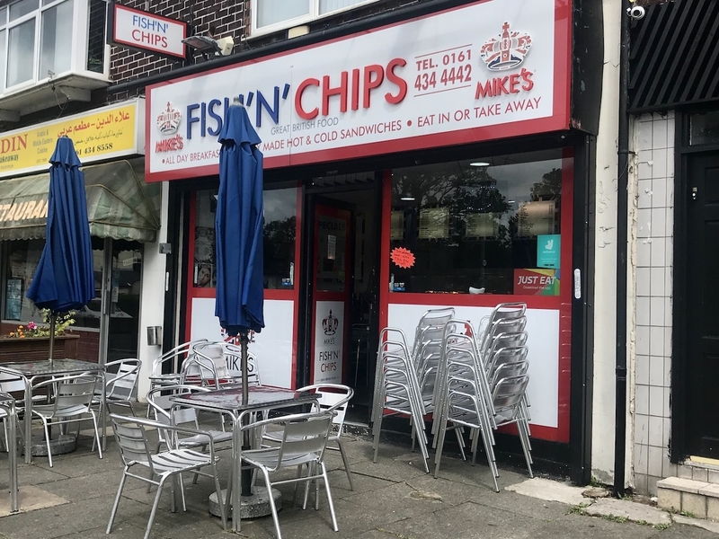 2019 10 28 Mikes Fish N Chips Exterior