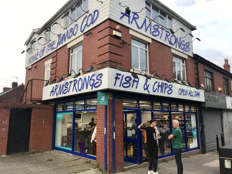 2019 10 28 Fish And Chips Armstrongs Exterior