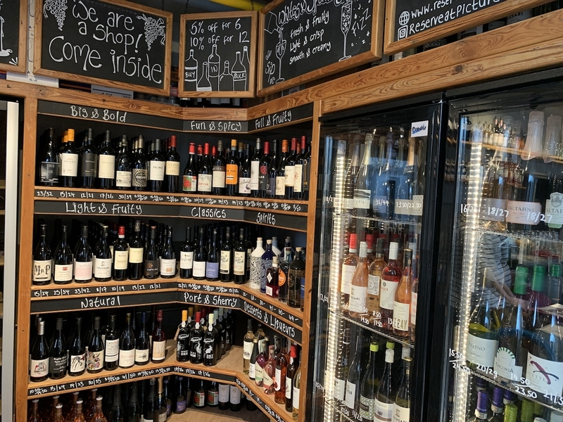 2019 10 23 Reserve Wines Shelves Picturedrome