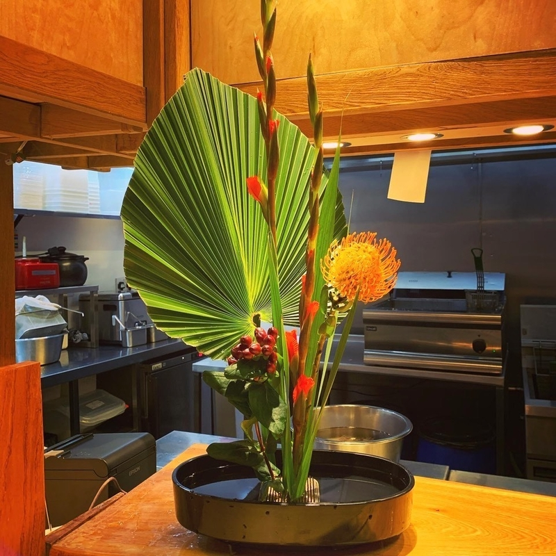 2019 11 26 Chish And Fips Flower Arrangement