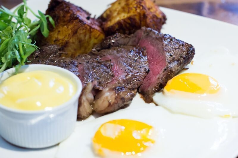 2020 02 14 Pen And Pencil Steak And Eggs
