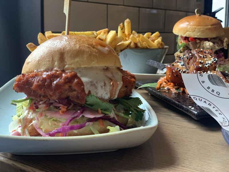 20190808 Quarter House Chicken Burger