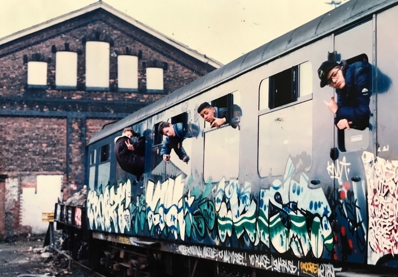 2020 12 23 Hip Hop Archives Original Graffiti Photographs From 1988 89 Credit Mhha
