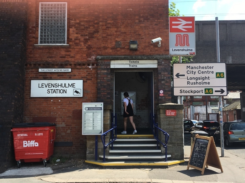 2018 08 03 Levenshulme Station And Street With No Name 1