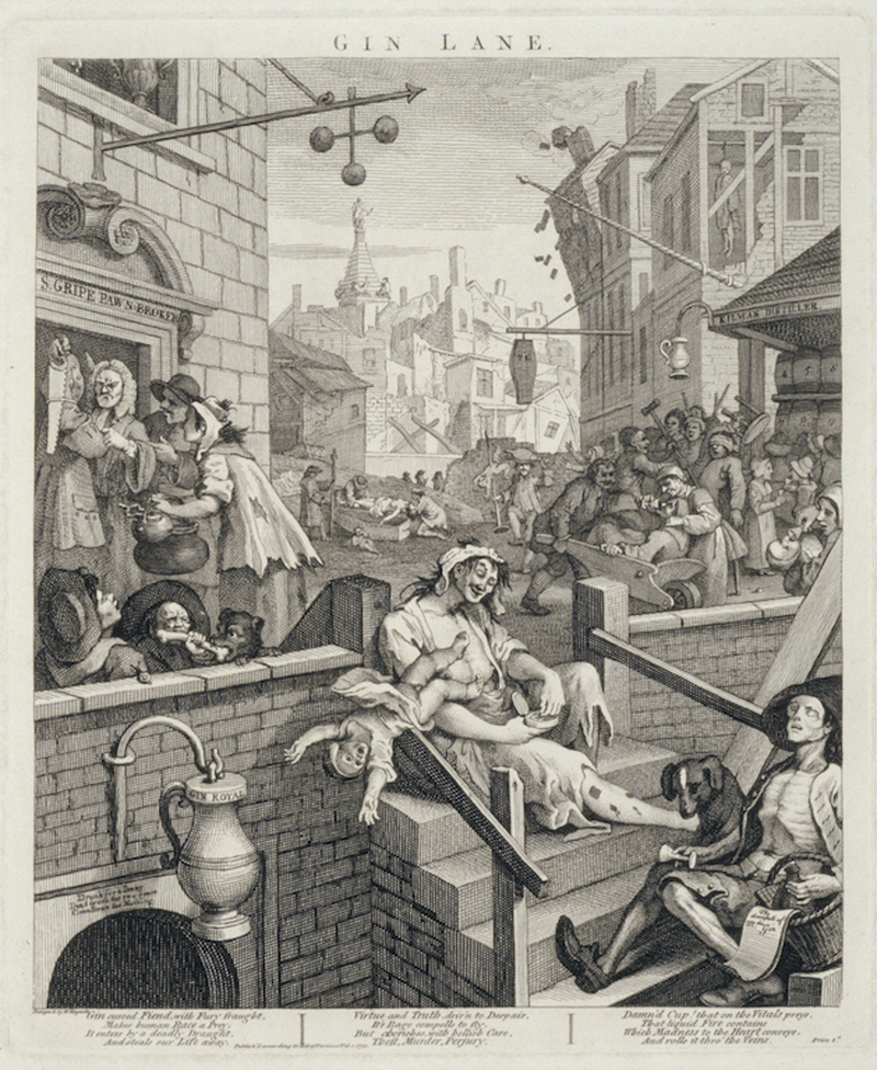 2019 03 13 The Whitworth William Hogarth Gin Lane