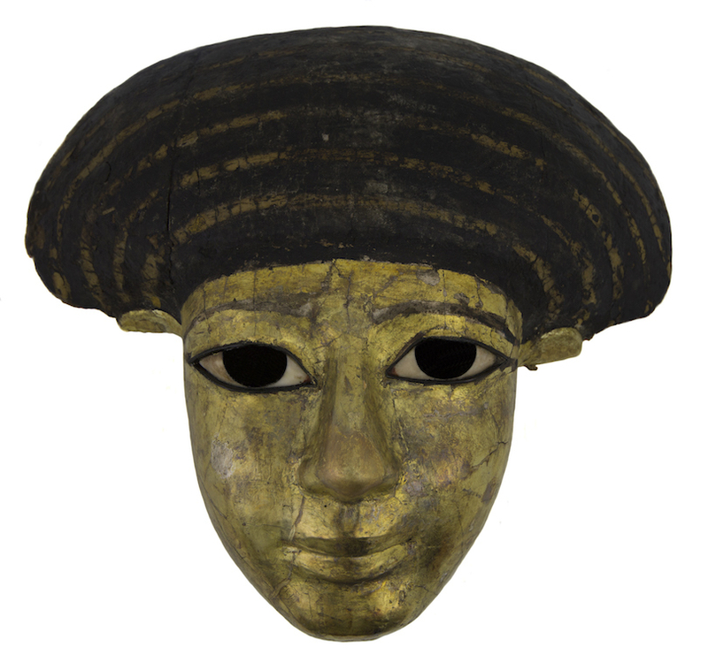 2019 03 15 Museum Of Wigan Life 18Th Dynasty Gilded Coffin Face