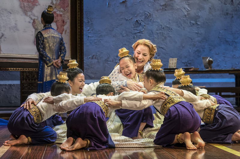 The King And I Tour Annalene Beechey Anna With Royal Children Credit Johan Persson 1