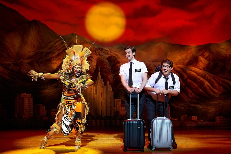 2019 06 14 Melissa Brown Taylor Kevin Clay And Conner Peirson Book Of Mormon