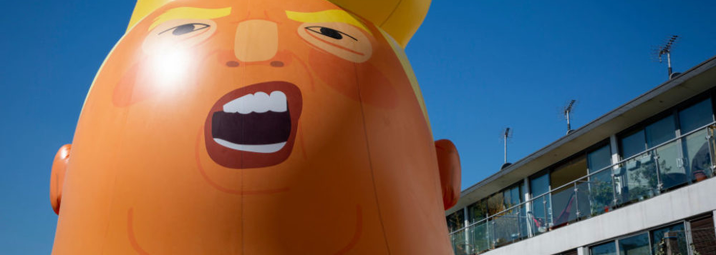 Donald Trump Baby Balloon