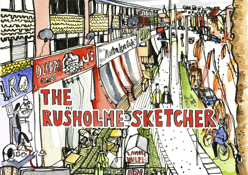 2018 11 20 Rusholme Sketcher
