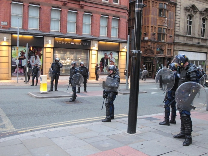 2018 12 21 Civil Unrest Police For A Line In The 2011 Riot