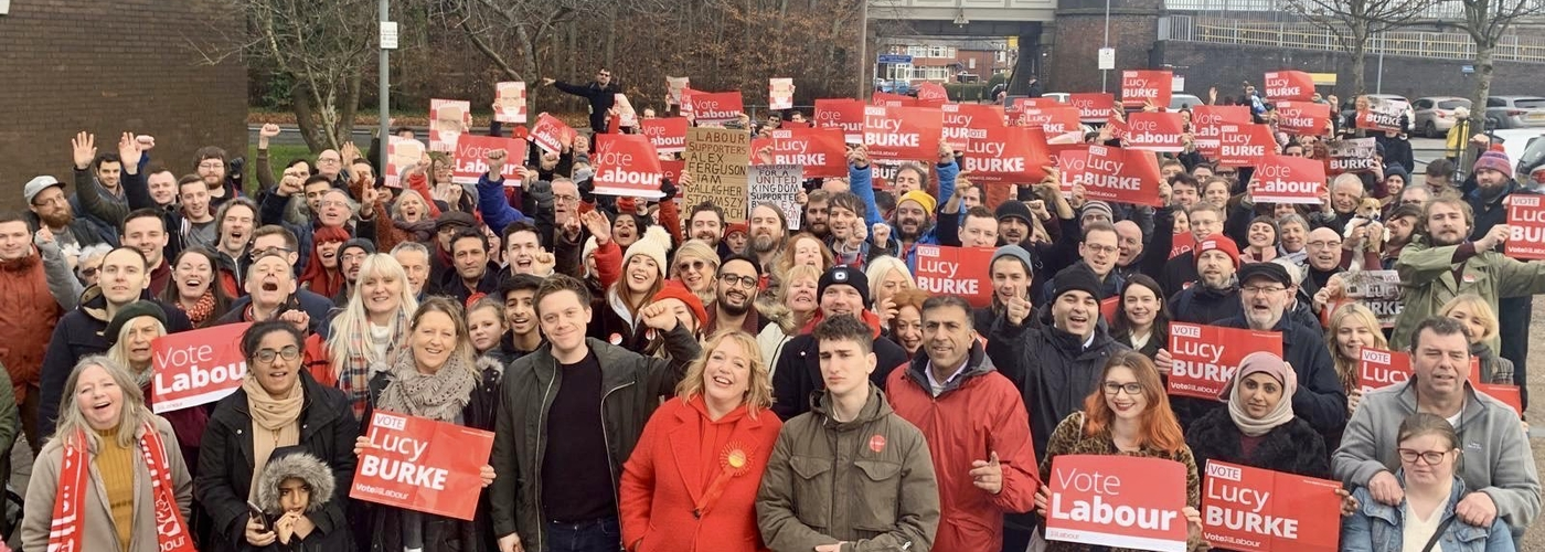 2019 12 09 Prestwich Rally Crowd @lucy4Burysouth