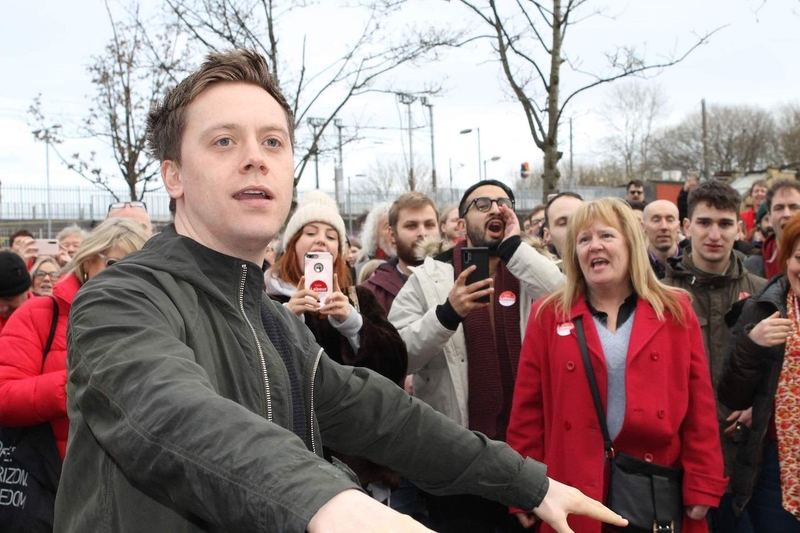 2019 12 09 Prestwich Rally Owen Jones