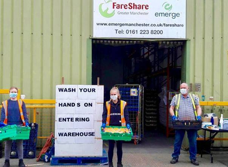 2020 06 17 Fareshare Rashford Social Distancing