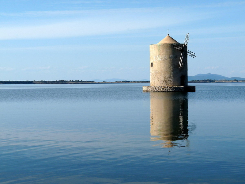 180901 Orbetello Windmill