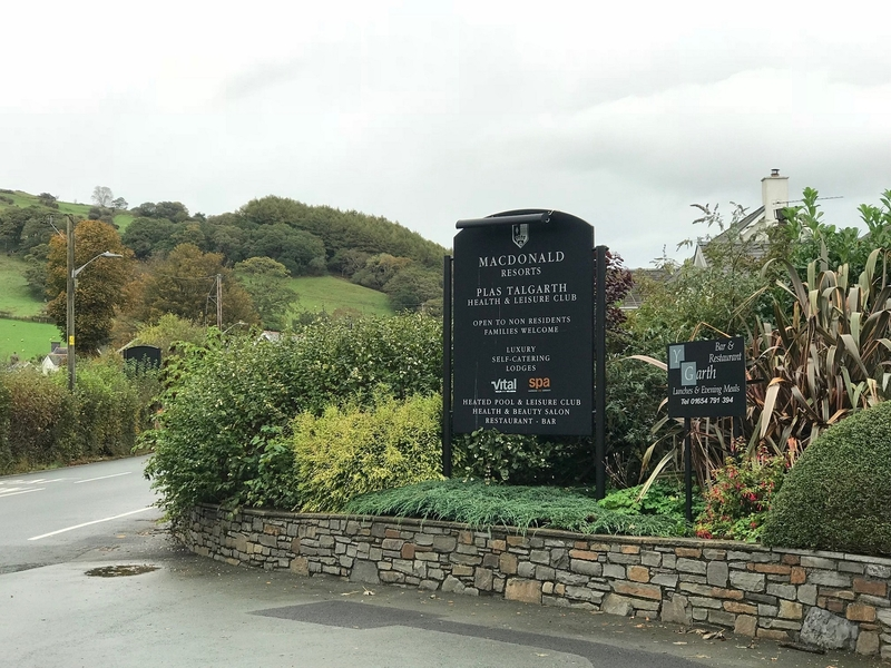 2018 11 12 Plas Talgarth Entrance