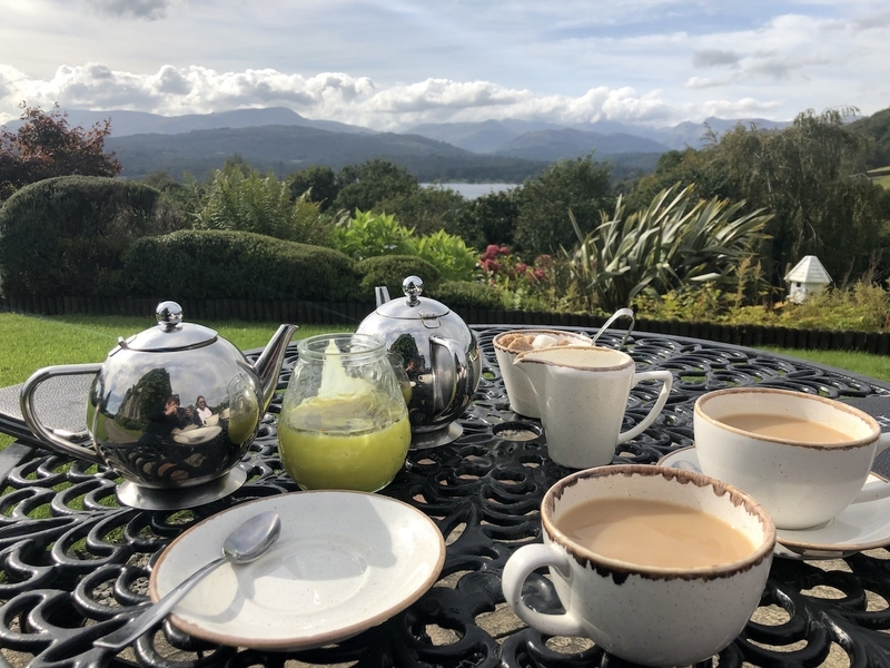 2019 10 06 Holbeck Ghyll Tea On Terrace