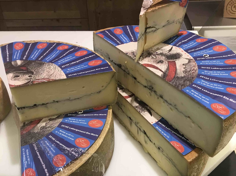 2019 11 10 Jura Morbier Cheese Fromagerie Metabief