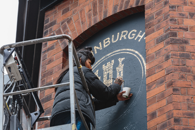 2019 11 07 Edinburgh Castle Sign