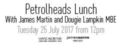 2017 06 29 James Martin petrolheads lunch