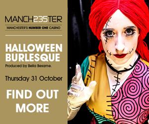 2019 08 05 Manchester 235 Halloween Burlesque banners