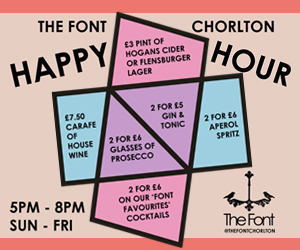 2017 07 28 The Font Chorlton Happy Hour