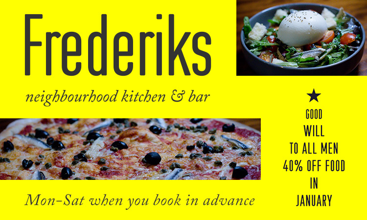 2020 01 16 Frederiks 40% off food Banners