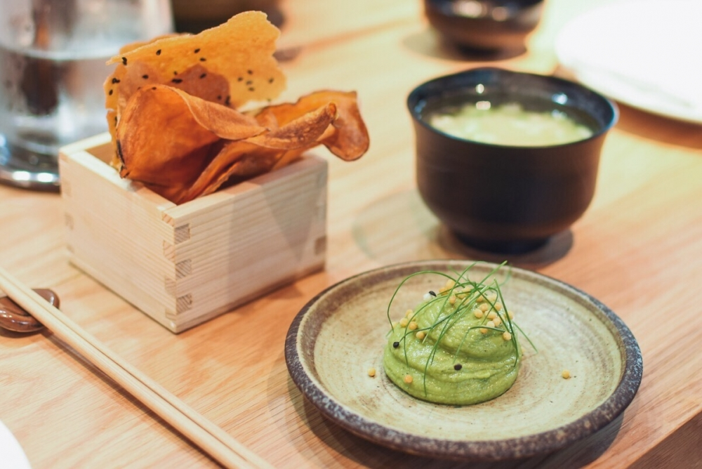 170629 Issho Review Pea Guac