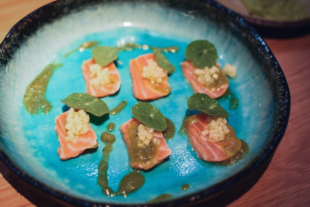 170629 Issho Review Seared Salmon