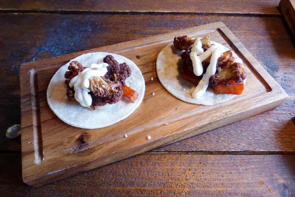 170706 Chida Cantina Review Cauliflower Tacos