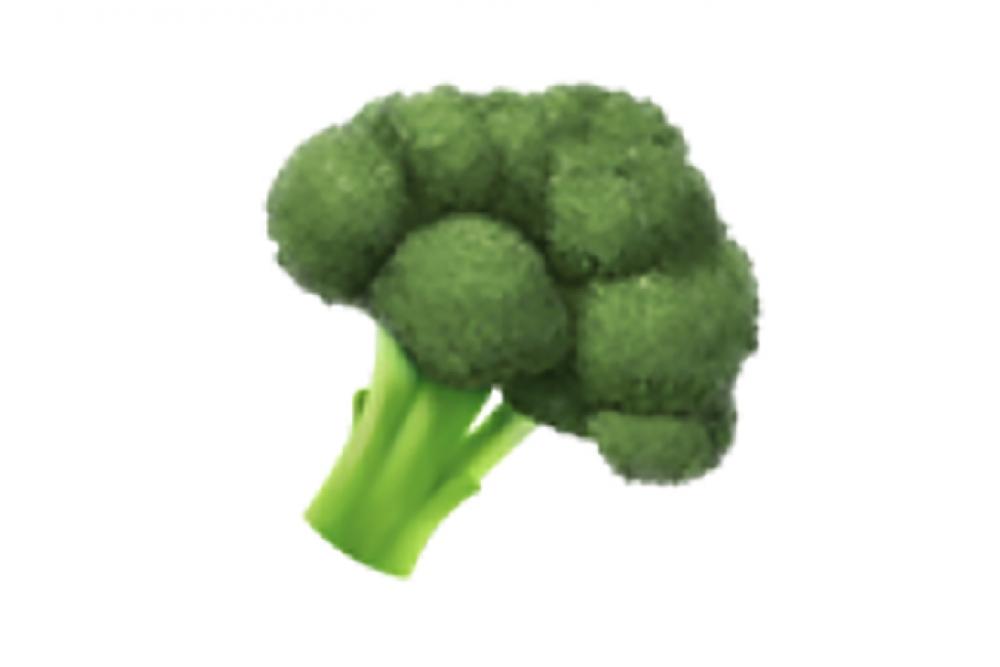 171012 Food Emoji Broccoli 2