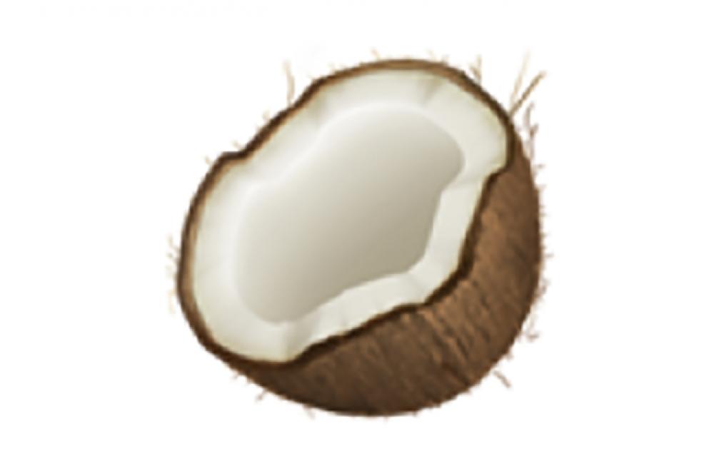 171012 Food Emoji Coconut 2