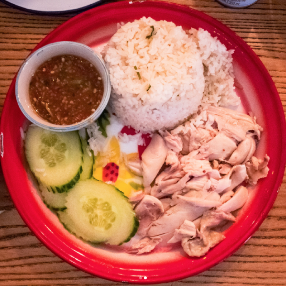171013 Mommy Thai Review Hainan Chicken