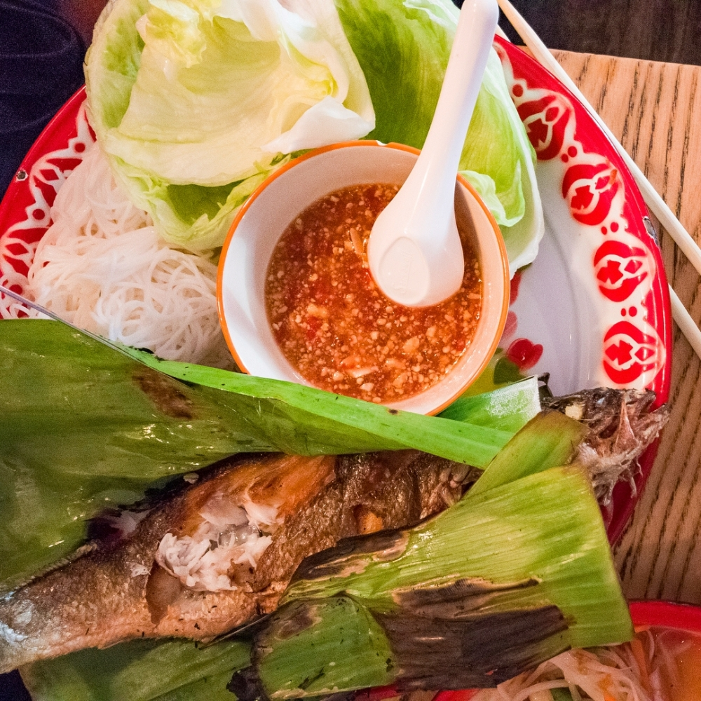 171013 Mommy Thai Review Sea Bass