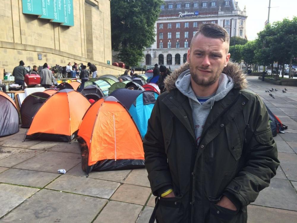 170303 Homeless Tent City